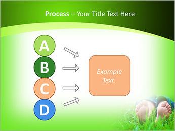 Lie On Grass PowerPoint Template - Slide 74