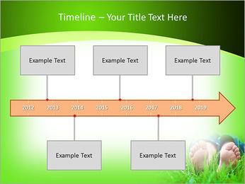 Lie On Grass PowerPoint Template - Slide 8