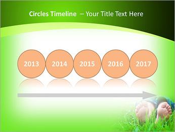 Lie On Grass PowerPoint Template - Slide 9