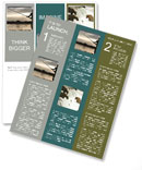 Fishing At Sunset Newsletter Template