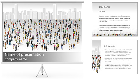 City Citizens PowerPoint Template