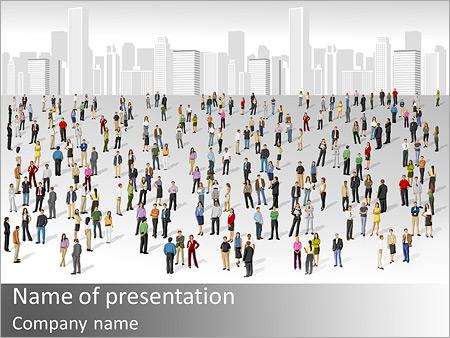City Citizens PowerPoint Templates