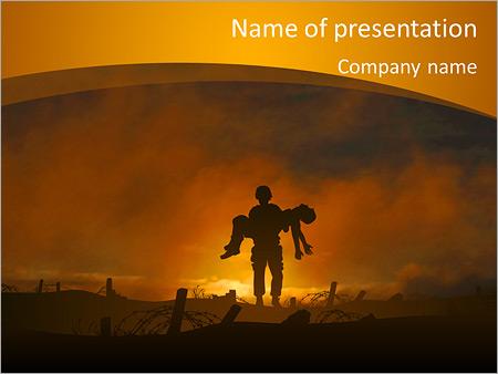 Victim PowerPoint Templates