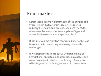 Victim PowerPoint Template - Slide 76