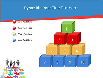 Family Puzzle PowerPoint Templates - Slide 11