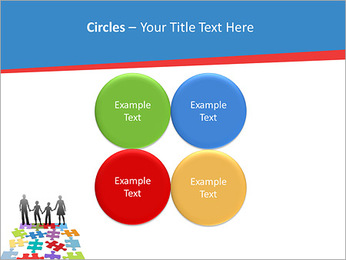 Family Puzzle PowerPoint Templates - Slide 18
