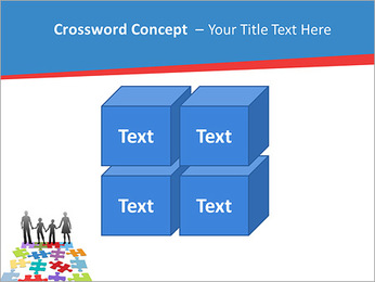Family Puzzle PowerPoint Template - Slide 19