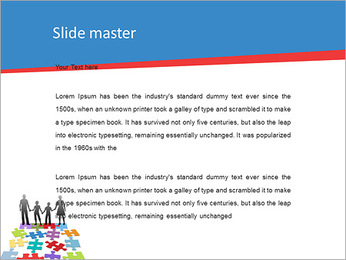 Family Puzzle PowerPoint Templates - Slide 2