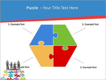 Family Puzzle PowerPoint Templates - Slide 20