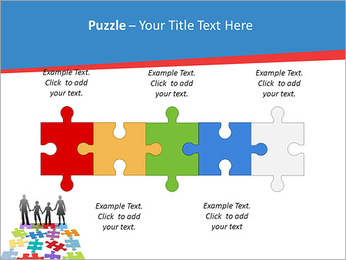 Family Puzzle PowerPoint Template - Slide 21