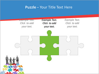 Family Puzzle PowerPoint Templates - Slide 22