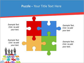 Family Puzzle PowerPoint Templates - Slide 23