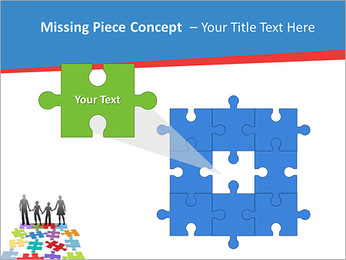 Family Puzzle PowerPoint Templates - Slide 25