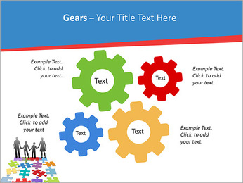 Family Puzzle PowerPoint Template - Slide 27