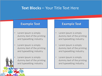 Family Puzzle PowerPoint Templates - Slide 37