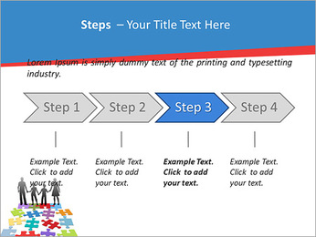 Family Puzzle PowerPoint Templates - Slide 4