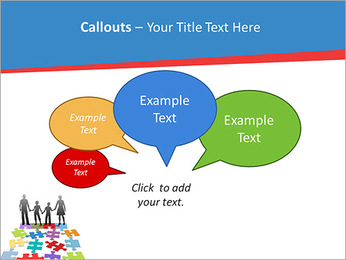 Family Puzzle PowerPoint Templates - Slide 53