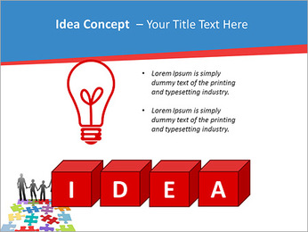 Family Puzzle PowerPoint Template - Slide 60