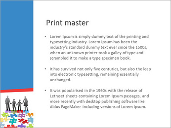 Family Puzzle PowerPoint Templates - Slide 76