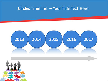 Family Puzzle PowerPoint Templates - Slide 9