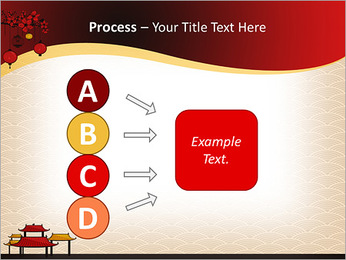 China Design PowerPoint Templates - Slide 74