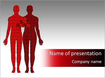 Relationship Puzzle PowerPoint Templates - Slide 1