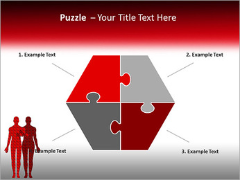 Relationship Puzzle PowerPoint Templates - Slide 20