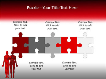 Relationship Puzzle PowerPoint Templates - Slide 21