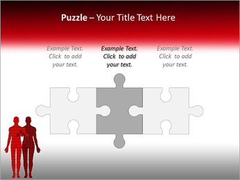 Relationship Puzzle PowerPoint Templates - Slide 22