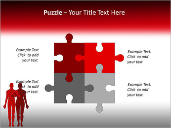 Relationship Puzzle PowerPoint Templates - Slide 23