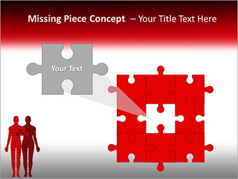 Relationship Puzzle PowerPoint Templates - Slide 25