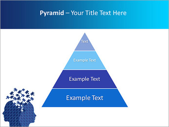 Blue Head Puzzle PowerPoint Template - Slide 10