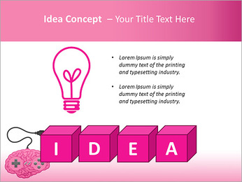 Brain Under Control PowerPoint Template - Slide 60