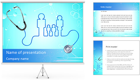 Family Doctor Visit PowerPoint Template
