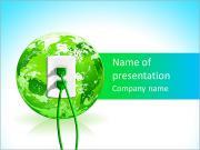 Зеленый источник энергии Шаблоны презентаций PowerPoint