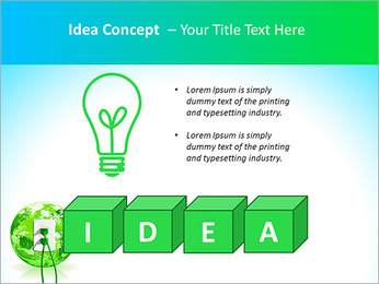 Green Energy Source PowerPoint Template - Slide 60