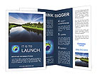 Beautiful Lake Brochure Templates