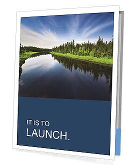 Beautiful Lake Presentation Folder