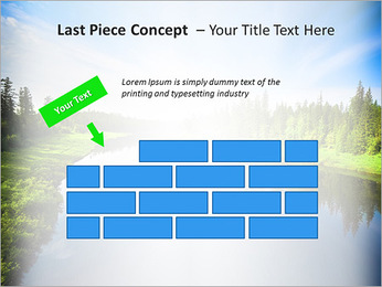 Beautiful Lake PowerPoint Template - Slide 26