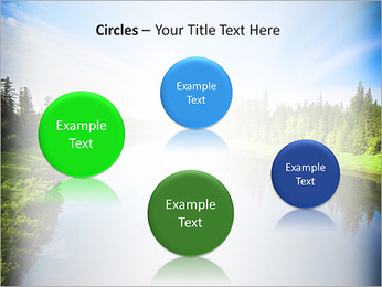 Beautiful Lake PowerPoint Template - Slide 57