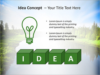 Beautiful Lake PowerPoint Template - Slide 60