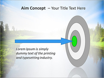 Beautiful Lake PowerPoint Template - Slide 63
