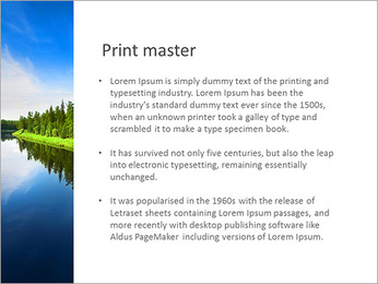 Beautiful Lake PowerPoint Template - Slide 76