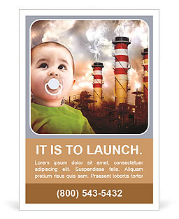 Ecology For Children Ad Template