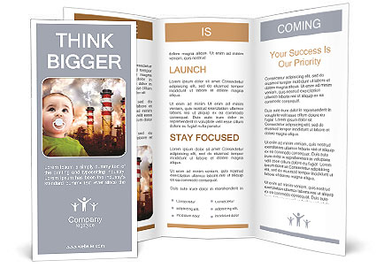 Ecology For Children Brochure Template