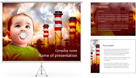 Ecology For Children PowerPoint Template