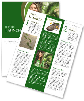 Eco Activist Newsletter Template