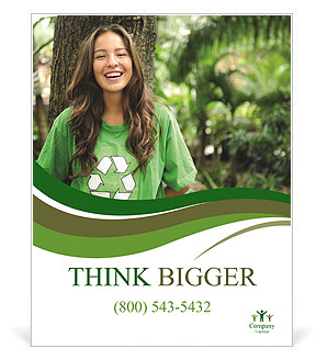 Eco Activist Poster Template