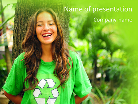 Eco Activist PowerPoint Templates