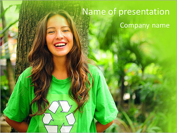 Eco Activist PowerPoint Template